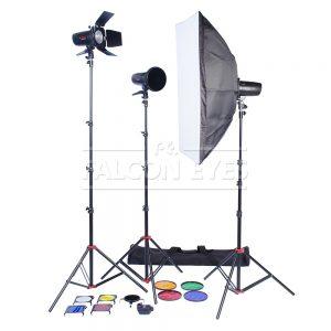 комплекты студийного света